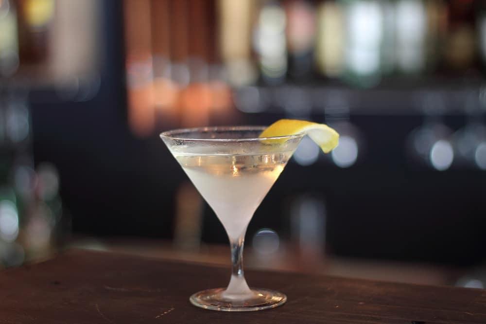 Le martini comme James Bond